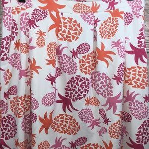 8673ef83f Sailor Sailor by Just Madras Skirts - Sailor Sailor Just Madras Pineapple  Skirt Small S